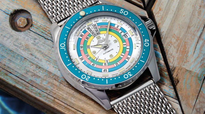 Mido Ocean Star Decompression Timer 1961 – новый вариант популярной модели
